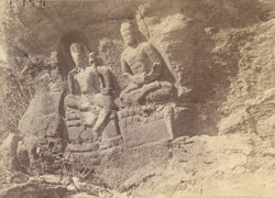Rock-cut Buddhistic images, Swat Valley 10031155